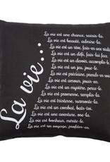 Chantal Lacroix Cousin gris charcoal-  La vie
