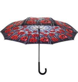 Parapluie reverse Pavot rouge