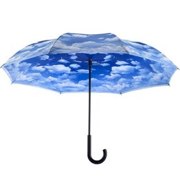 Parapluie reverse nuage