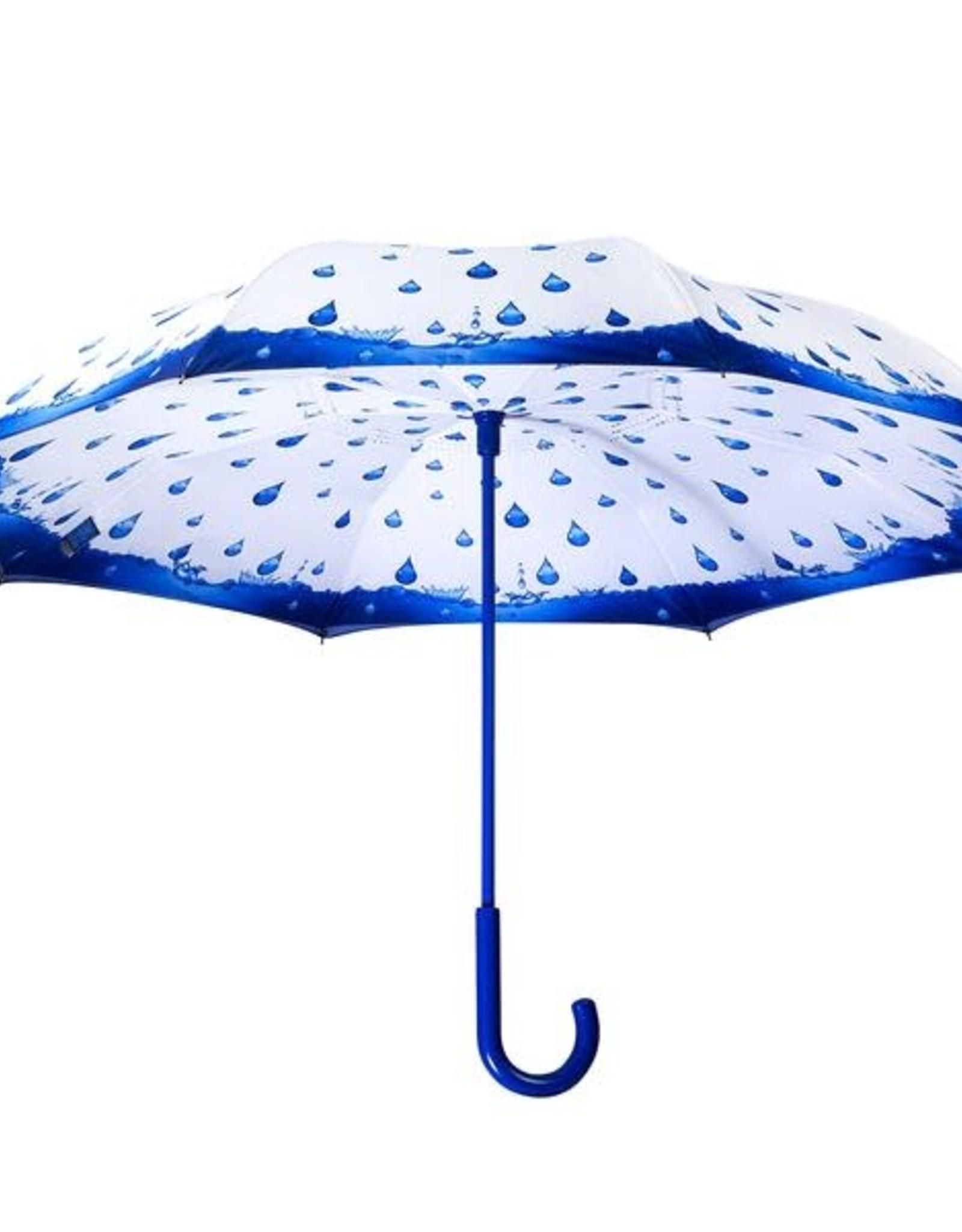 Parapluie reverse goutte d'eau