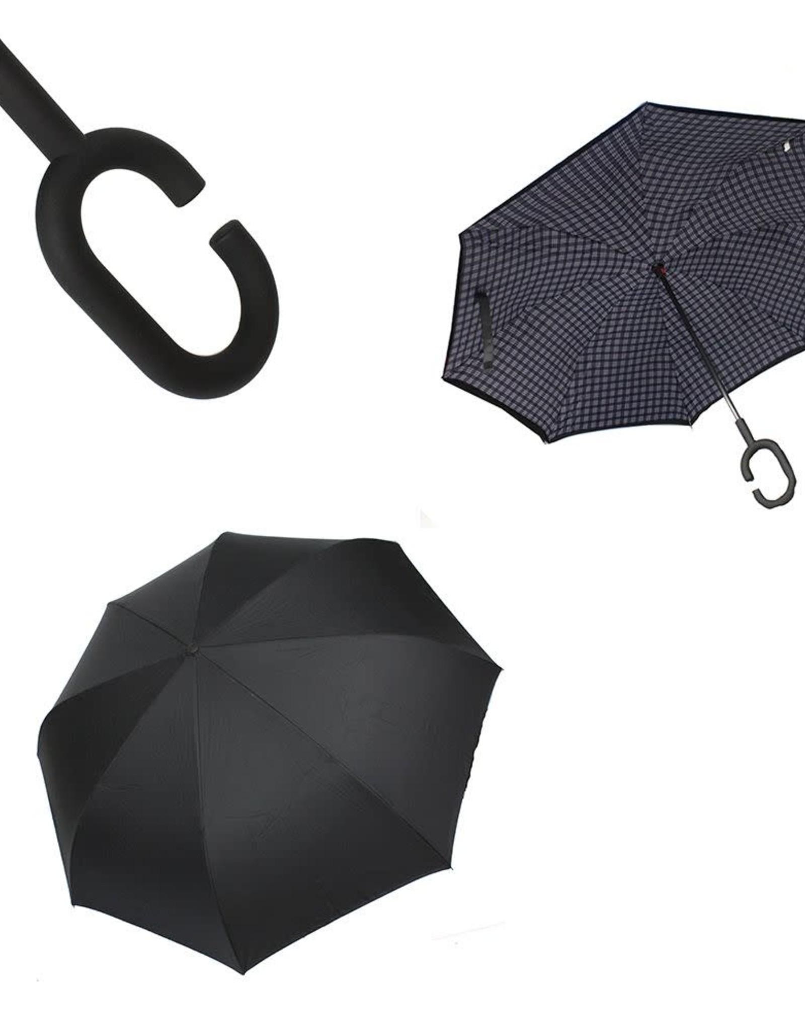 Parapluie noir & blanc