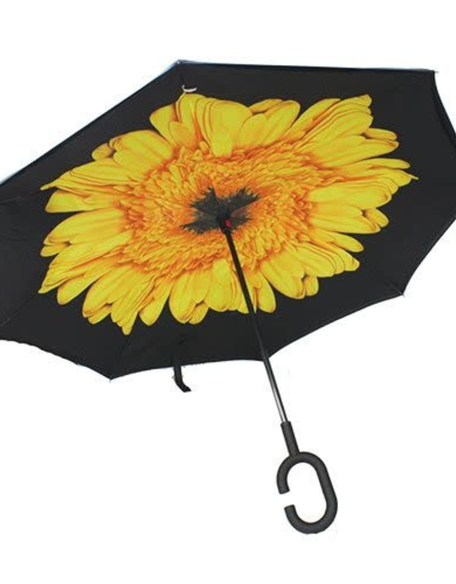 Parapluie fleur jaune