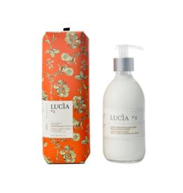 Lucia  par  Pure Living Lotion orange verte et mousse de chêne