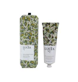 Lucia  par  Pure Living Crème à main huile d'olive et feuille de Laurier