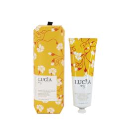 Lucia  par  Pure Living crème à main feuille de thé et miel sauvage