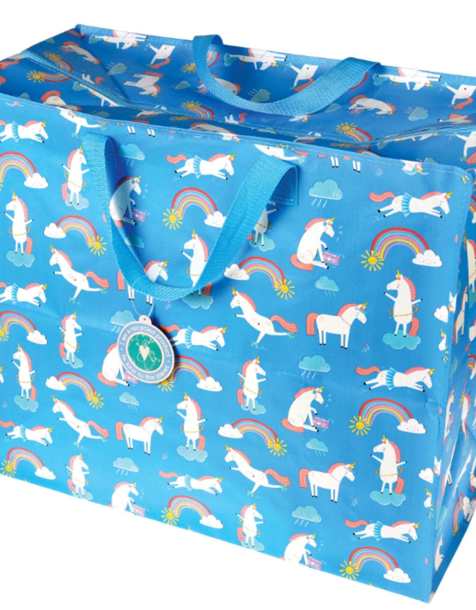 Grand sac de rangement licorne