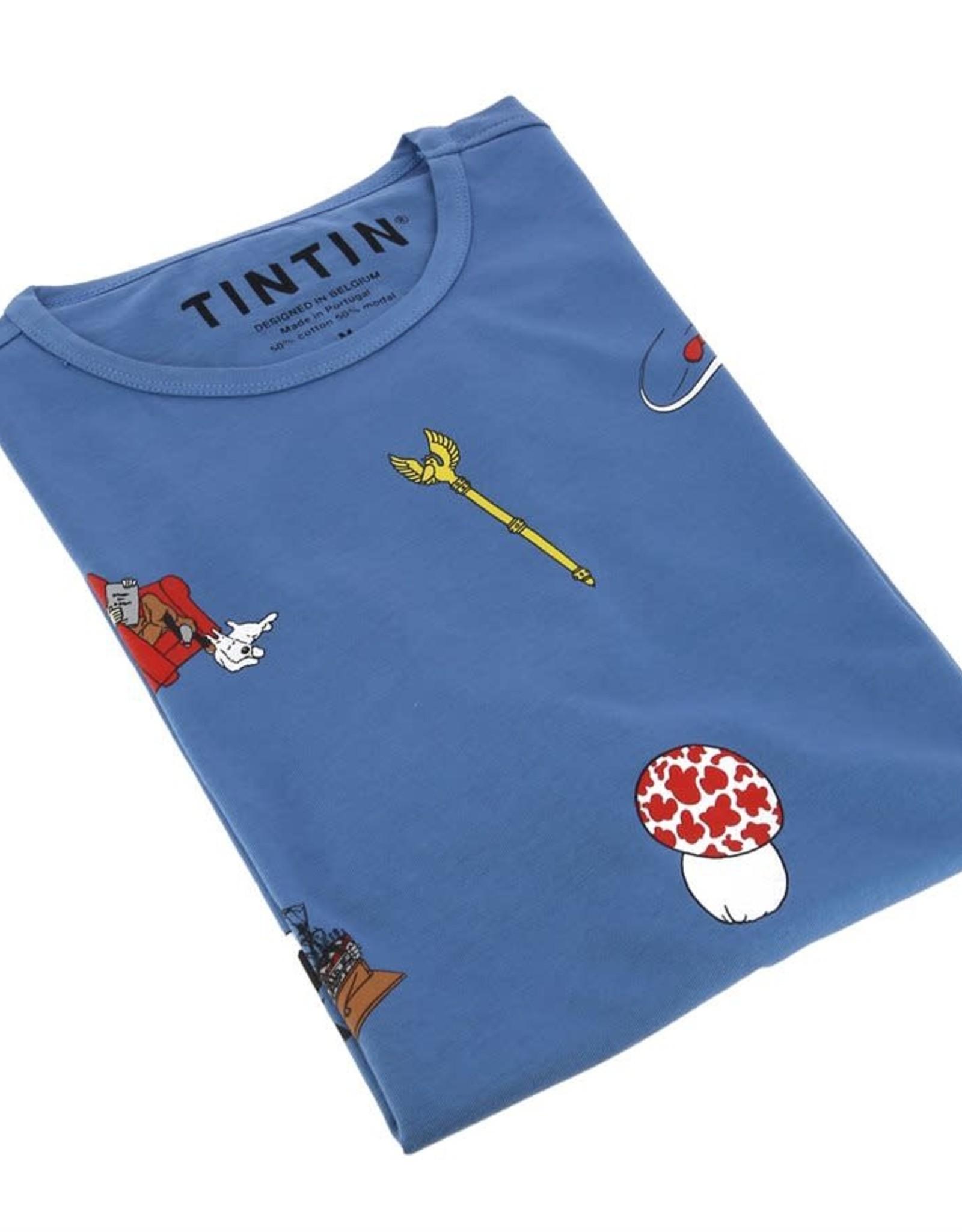 Tintin Chandail Tintin icônes bleu