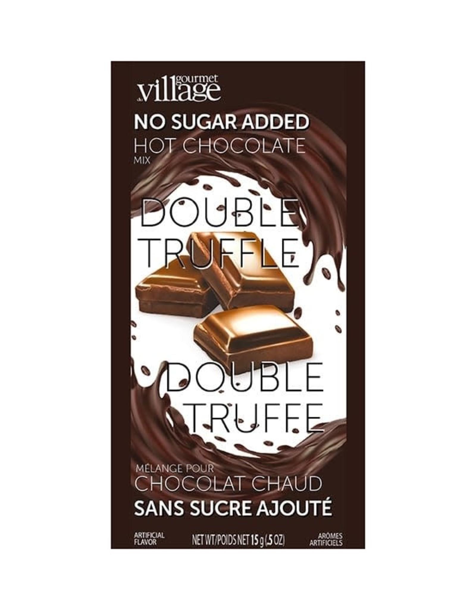 Gourmet du Village Chocolat chaud  Double Truffe * Sans sucre ajouté