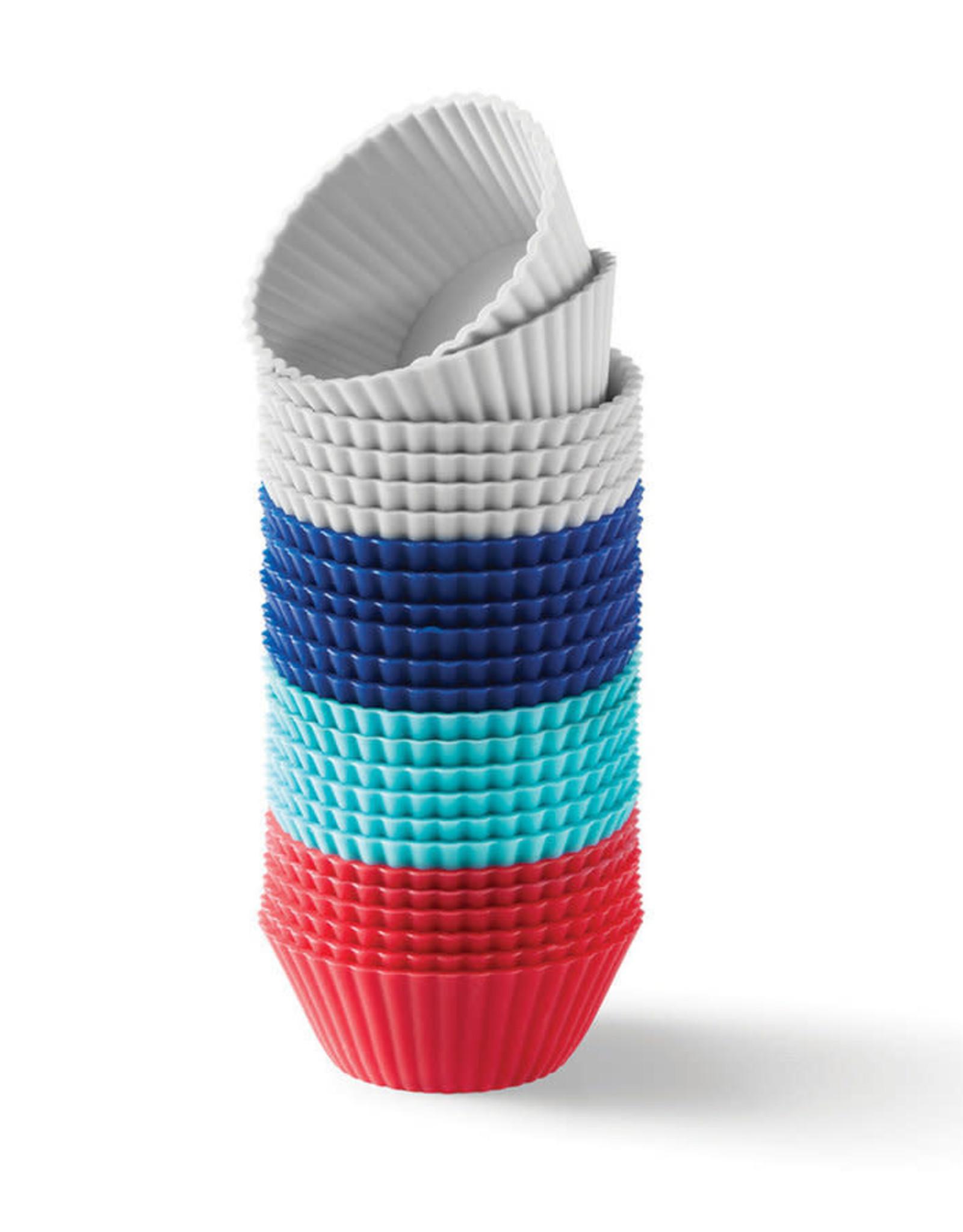 Ricardo Mini moules a muffin en silicone - 24 Pces