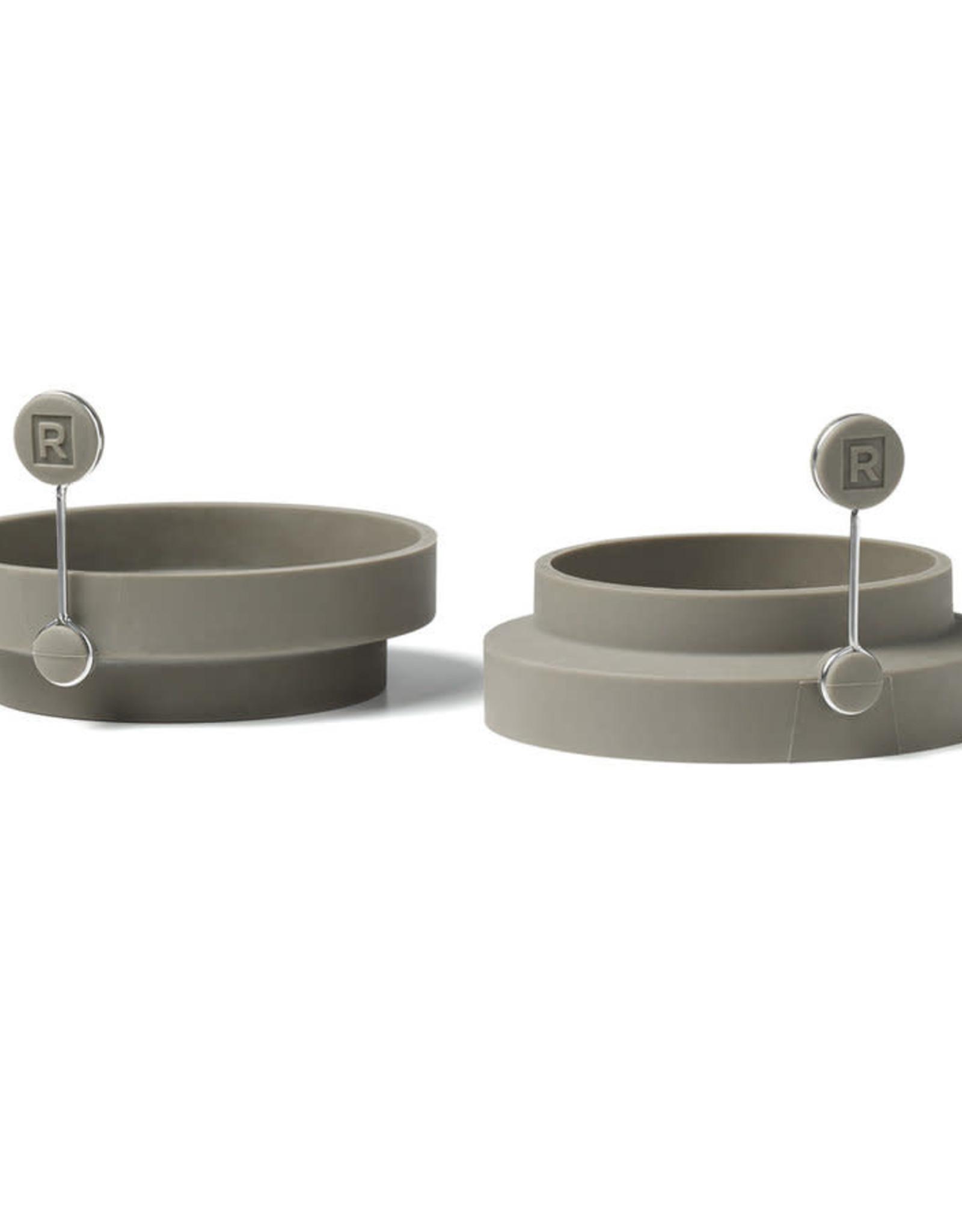 Ricardo Ensemble de 2 anneaux  silicone oeuf
