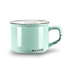 Tasse cappuccino bleu pâle