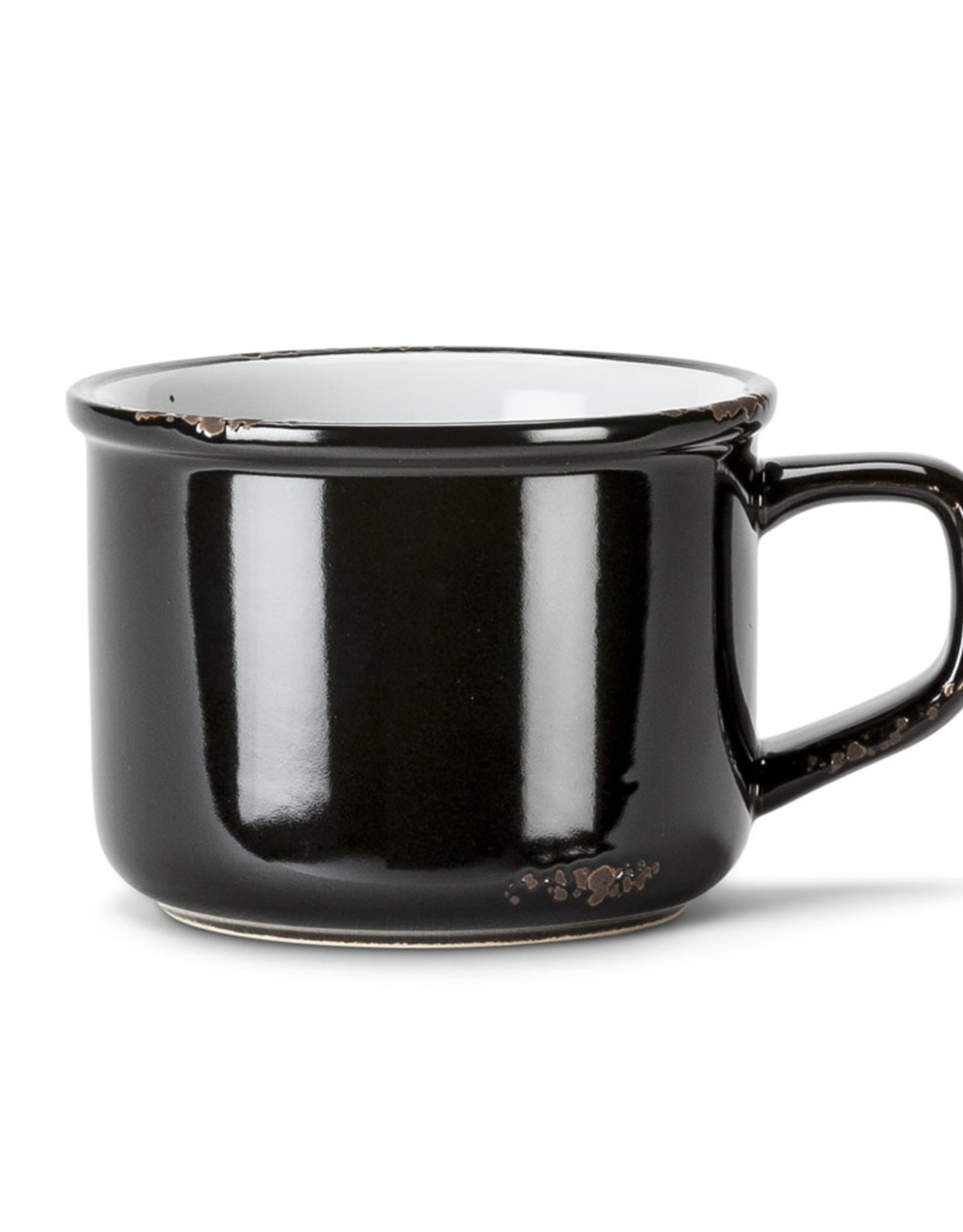 Tasse cappuccino Noir