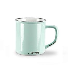 Mug bleu pâle