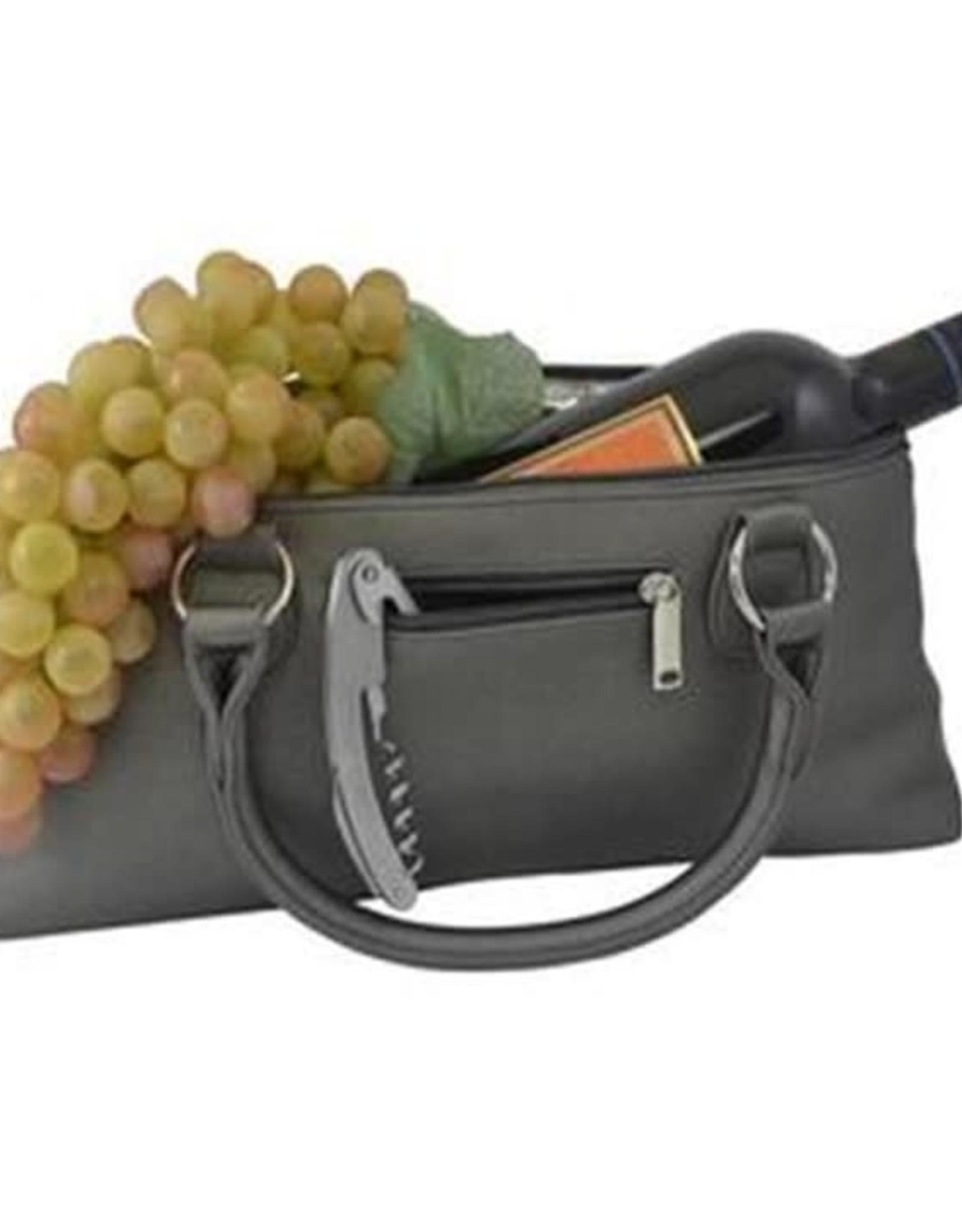 Sacoche à vin  Gris