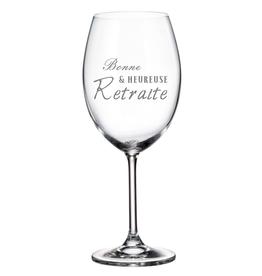 La maison du bar Verre à vin - Bonne retraite