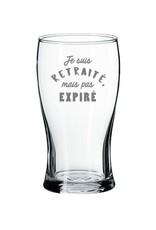 La maison du bar Verre à bière Retraité mais pas expiré
