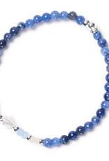 Beblue Bracelet Be glimmering bleu océan