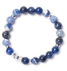Beblue Bracelet Be Brave bleu océan
