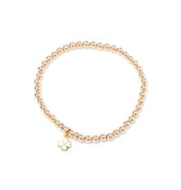 Beblue Bracelet Be Gift Surya - trèfle or