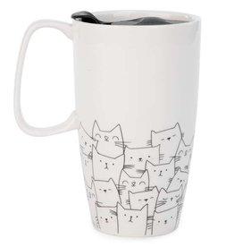 Tasse de voyage - chats