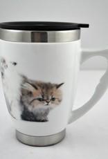 Tasse de bureau céramique chatons