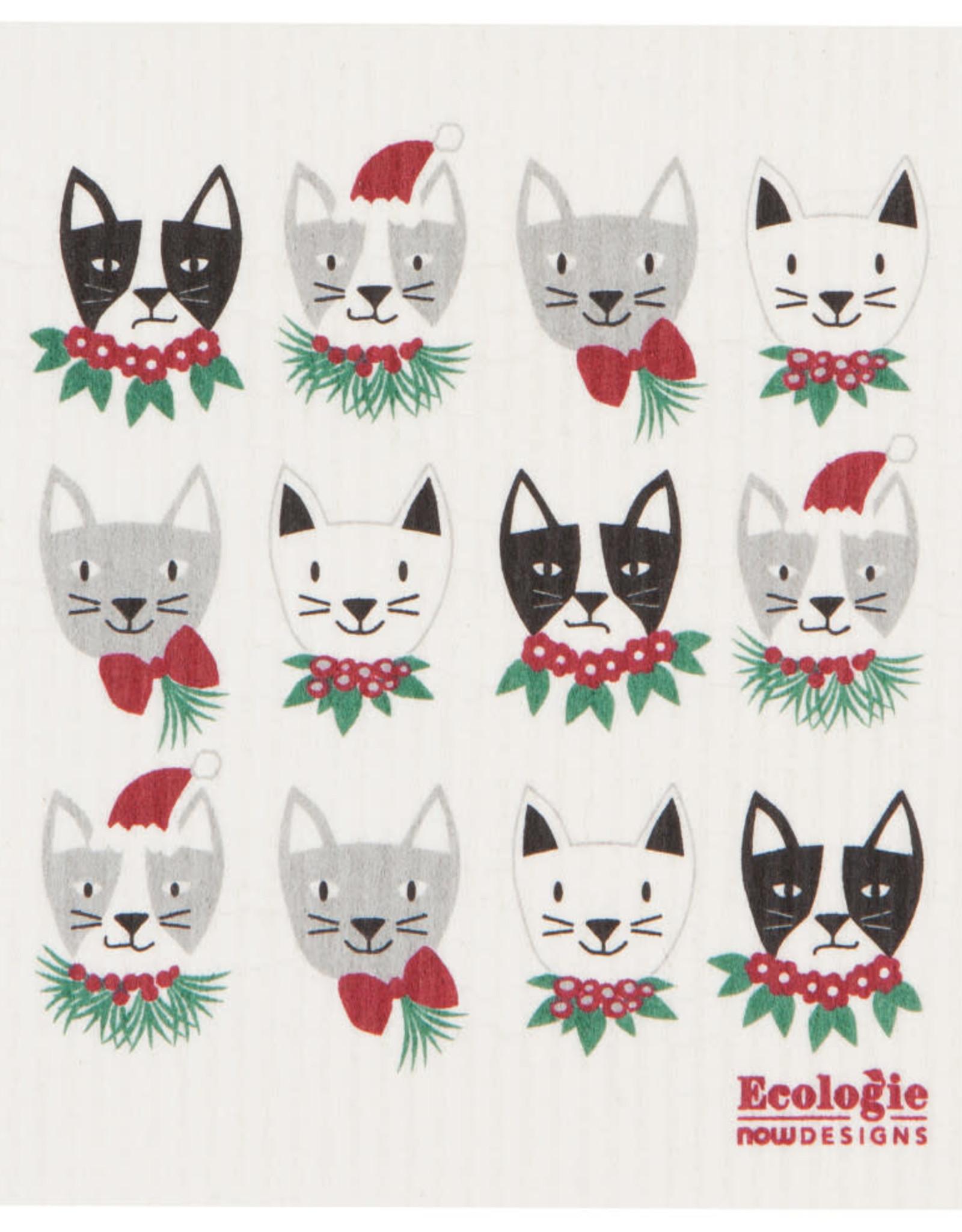Lingette - chat de Noël