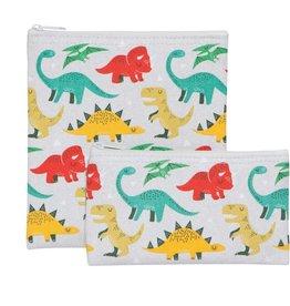 Ens 2 sacs à collation dinosaure