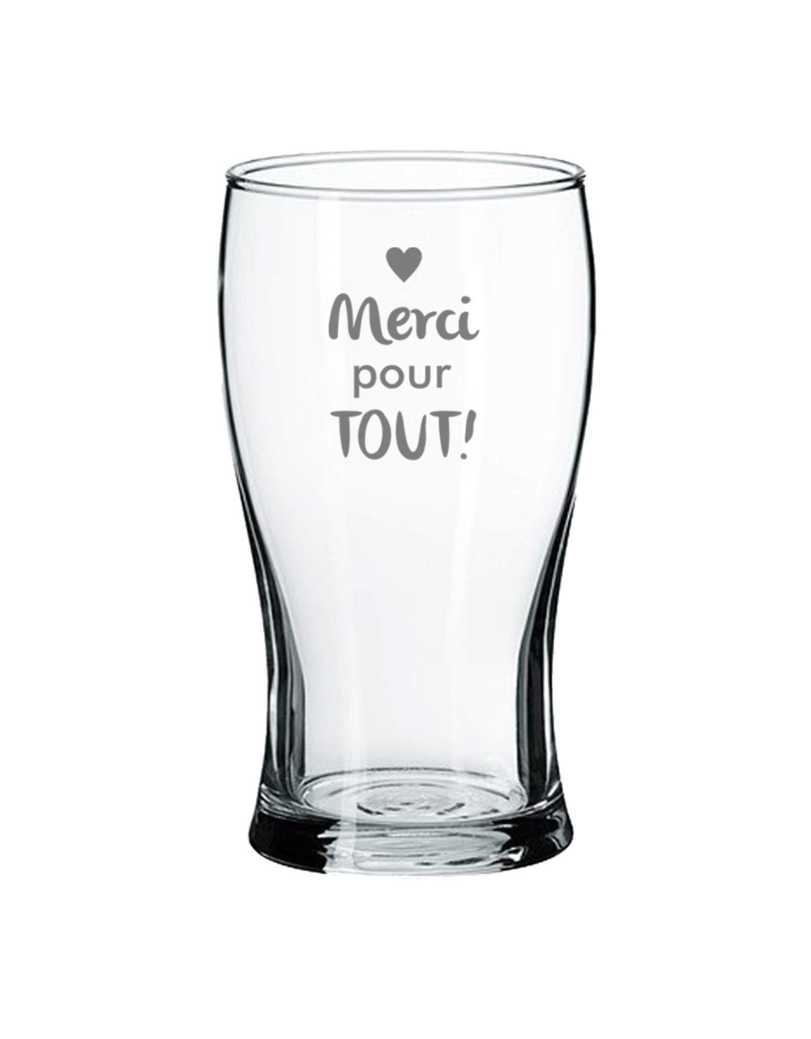 La maison du bar Verre à bière  - merci pour tout !