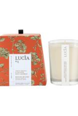 Lucia  par  Pure Living Bougie de soja orange verte et mousse de chêne 50 hr