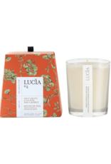 Lucia  par  Pure Living Bougie de soja orange verte et mousse de chêne 20 hr