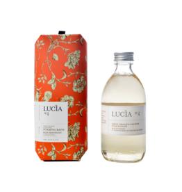 Lucia  par  Pure Living Bain moussant orange verte et mousse de chêne