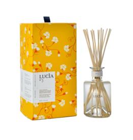 Lucia  par  Pure Living Diffuseur Rotang - feuille de thé & fleur de miel