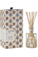 Lucia  par  Pure Living Diffuseur Rotang - Lotus bleu & orange