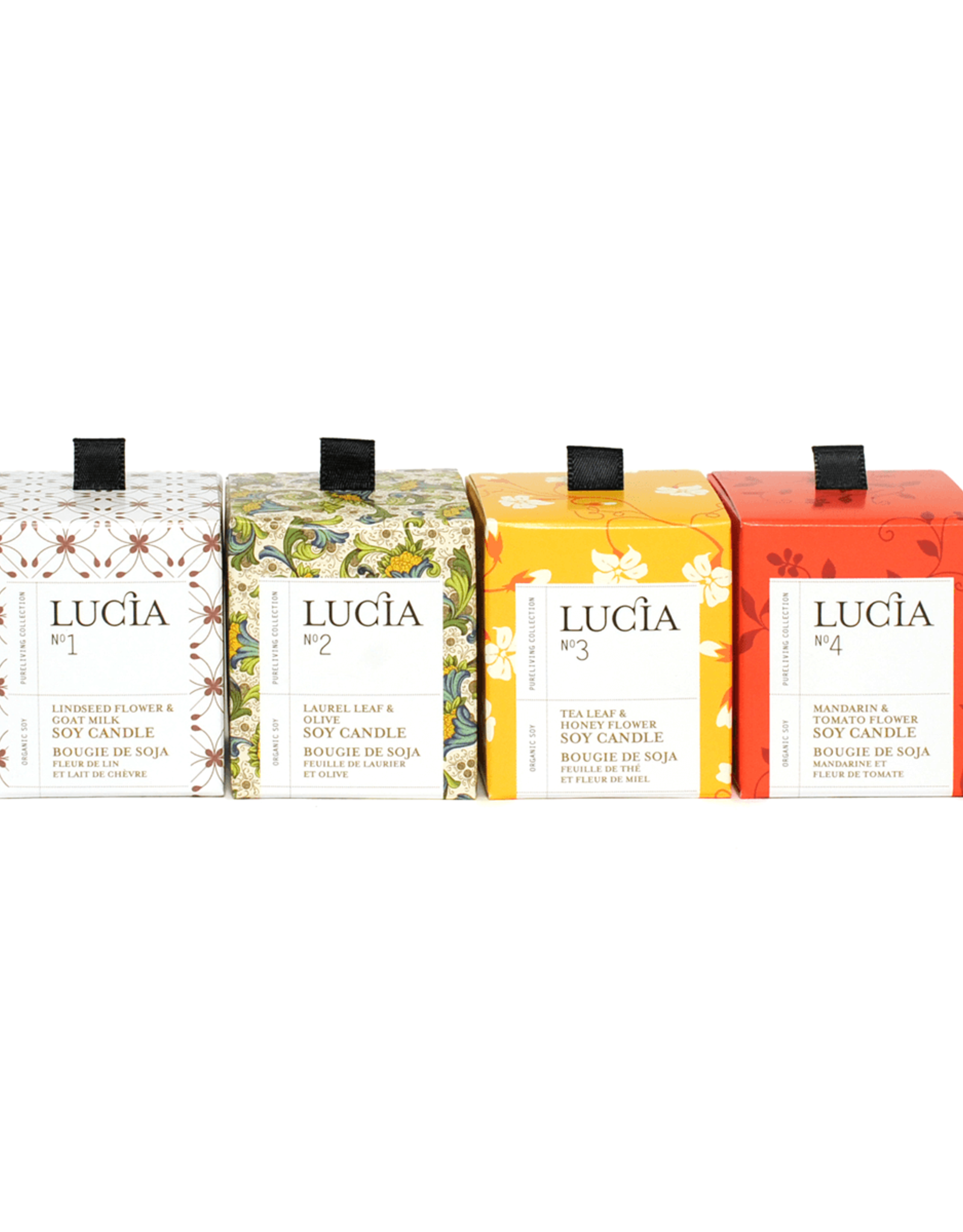 Lucia  par  Pure Living Ens 4 bougie #1