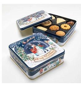 Boîte biscuits boule de neige