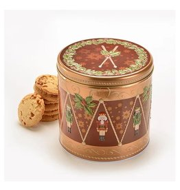 Boîte biscuits tambour casse-noisette