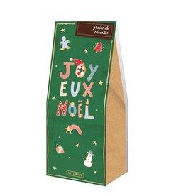 Grains de chocolat  - Joyeux Noël  vert