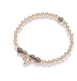 Beblue Bracelet Or Be tender - gris