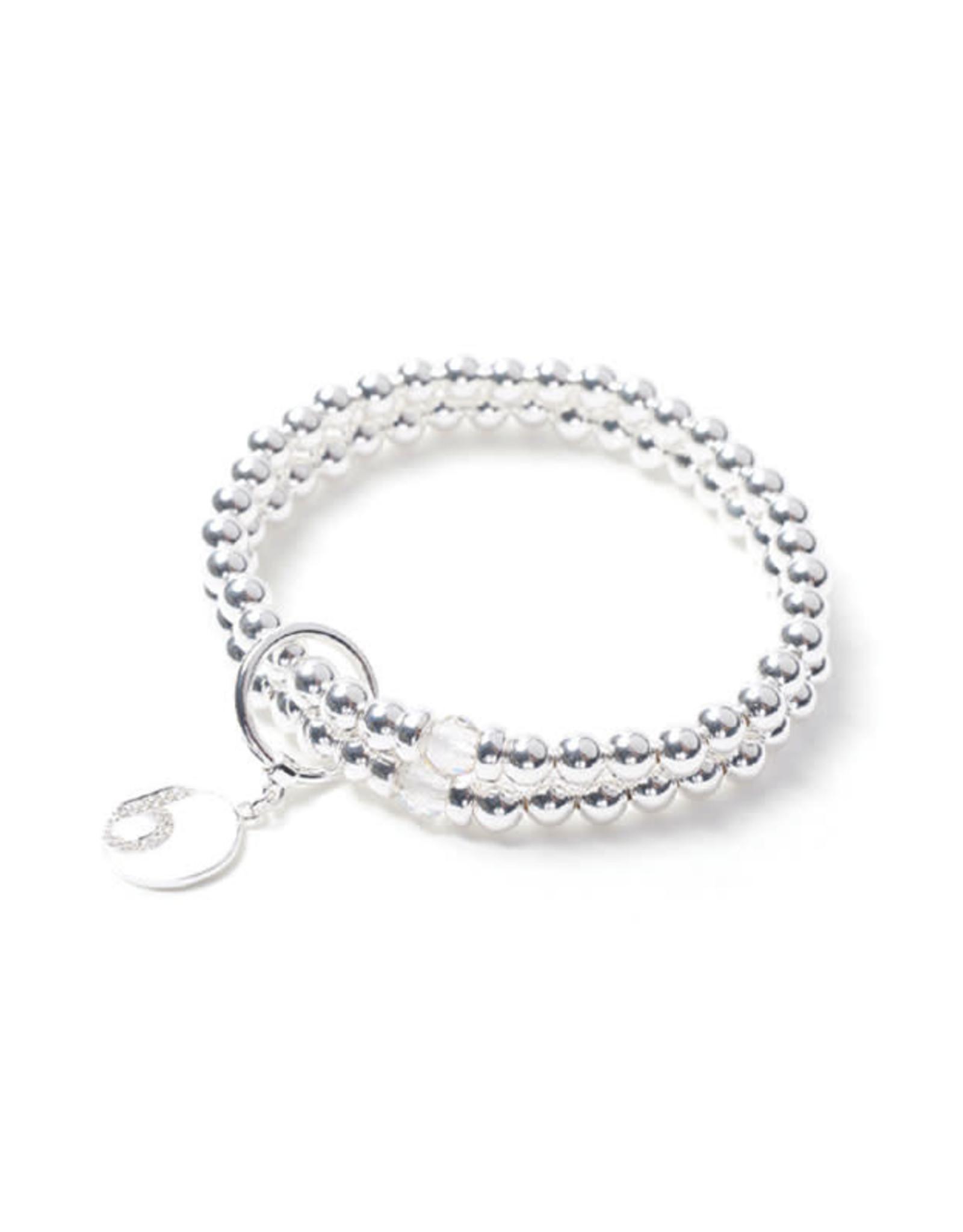 Beblue Bracelet  - Be Razzled- Dazzled argent