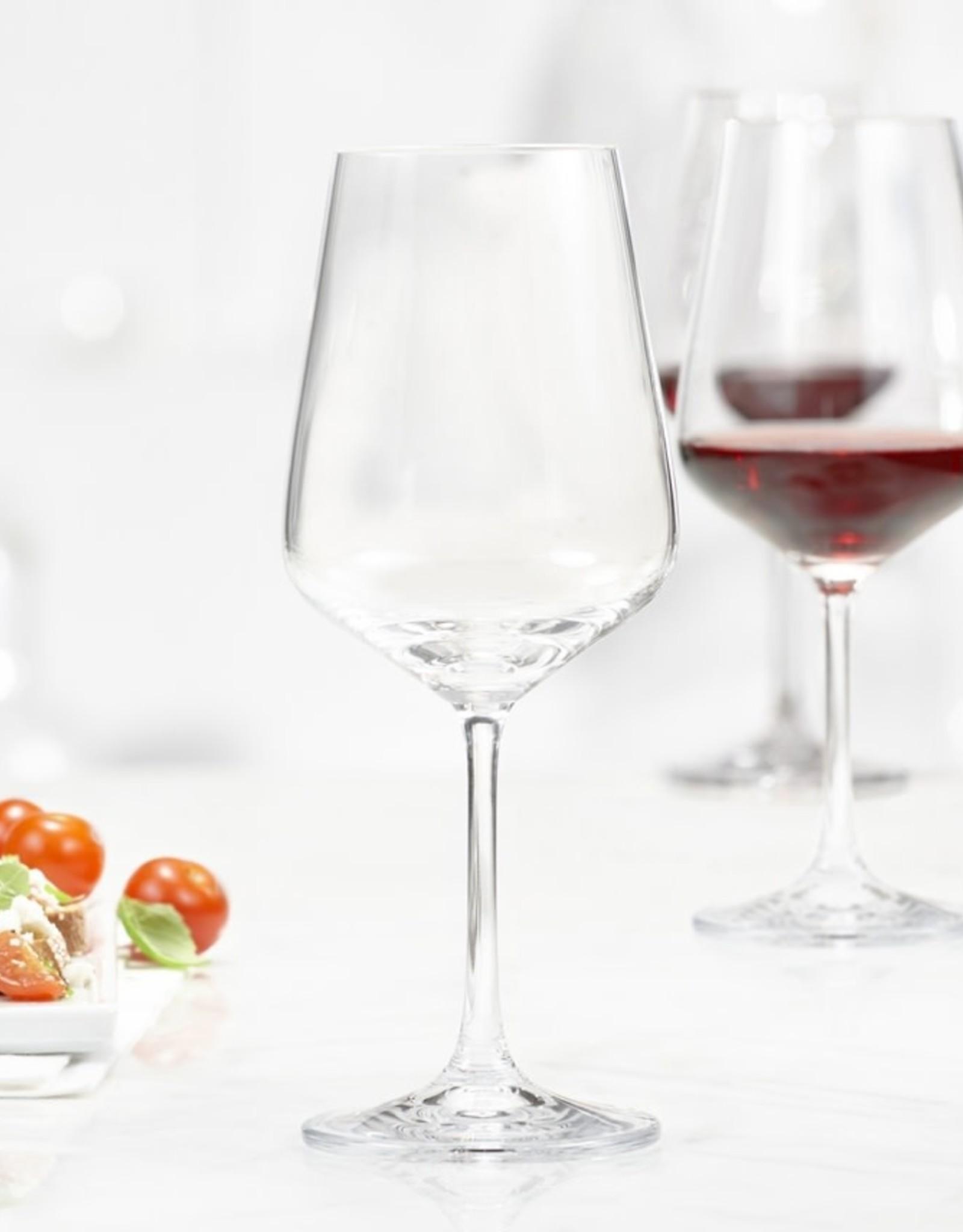 Trudeau Boîte de verre à vin rouge splendido