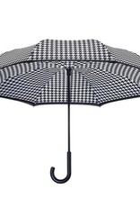 Parapluie reverse pied de poule