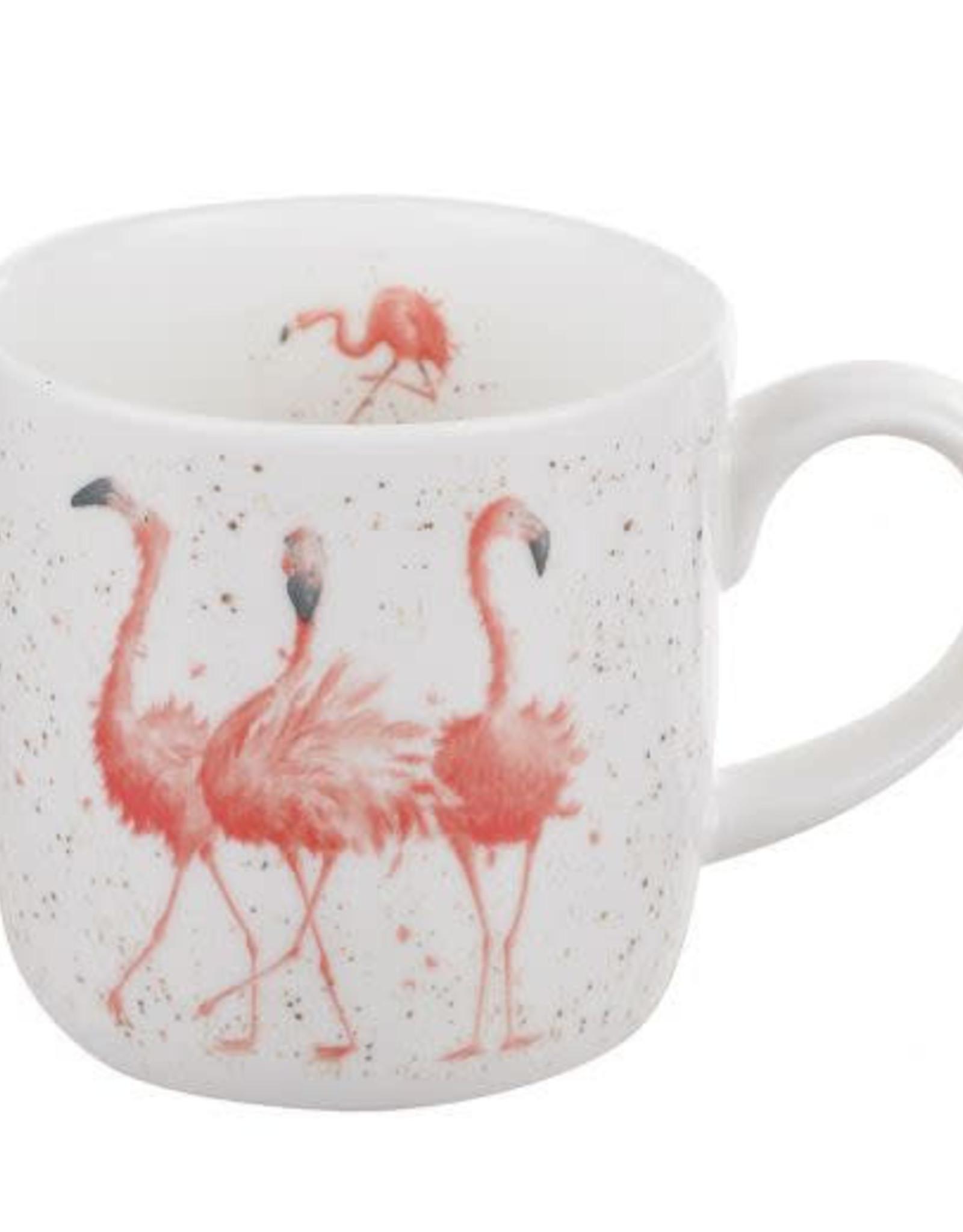 wrendale Tasse Flamant Rose -  Pink ladies