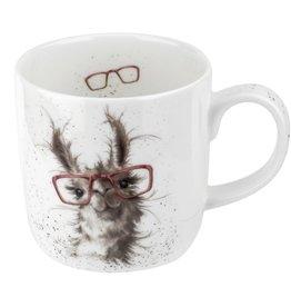 wrendale Tasse lama lunette - No Probllama