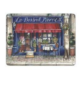 4 Napperons rigide - Café de Paris
