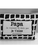 Fabrique Champêtre Coussin Papa
