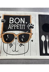 Fabrique Champêtre Napperon lunch chat  -  Appétit