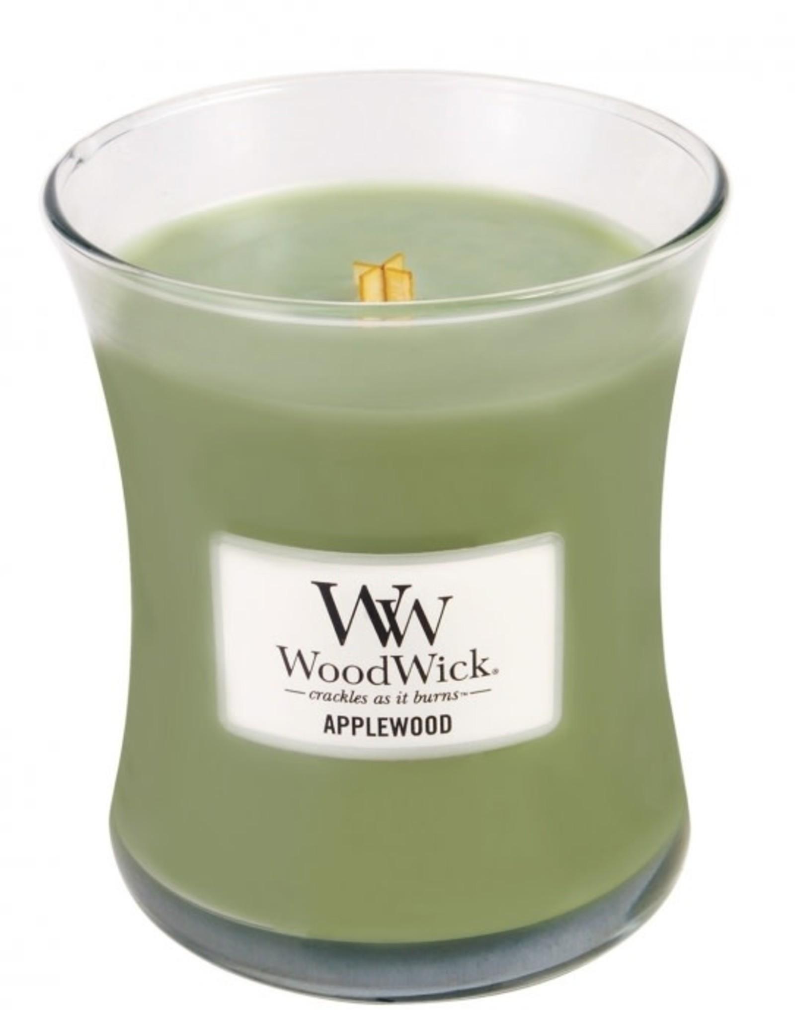 Woodwick Bougie applewood