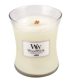 Woodwick Bougie Linen