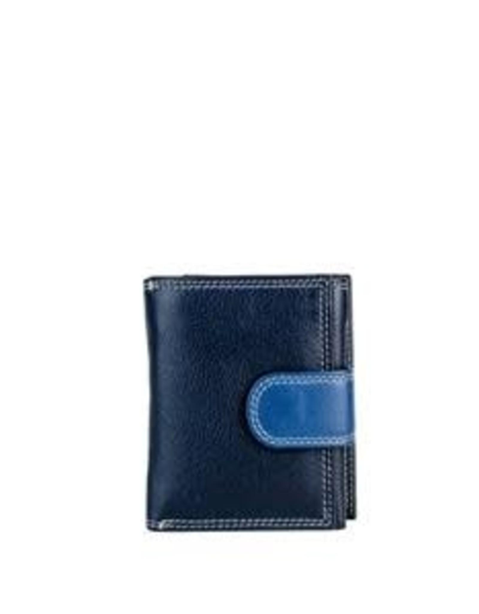 Petit portefeuille marine #2198