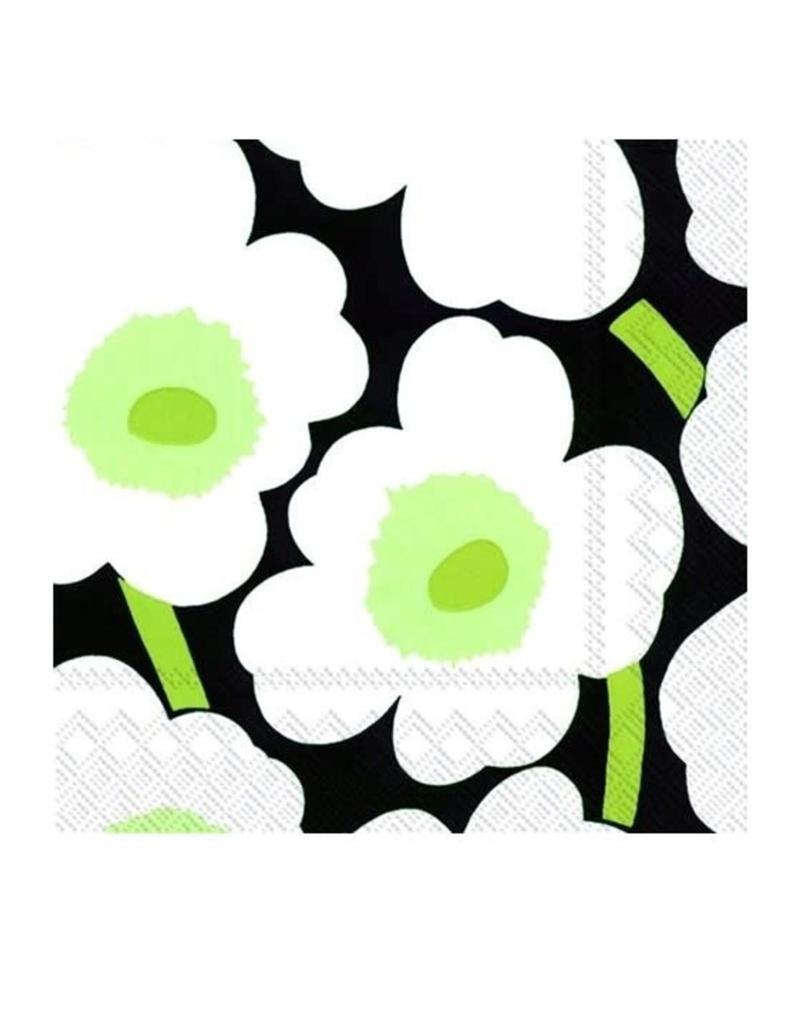 Serv. Table Marimeko noir et vert
